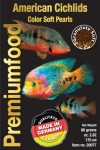 American cichlid color pearls Discusfood