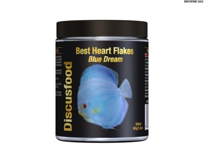 Best Heart Flakes Blue Dream 300ml.