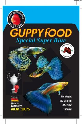 Guppy special super BLUE 80g