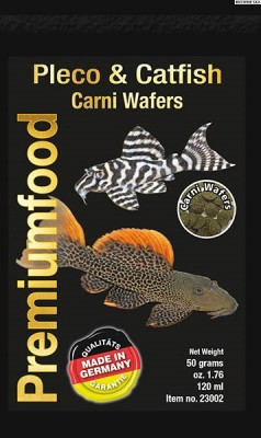 Pleco & Catfish Carni Wafers 50g.120ml.