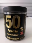 50% Artemia Soft XL Granulat 300ml 150gr