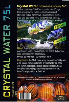 Crystal Water 75l