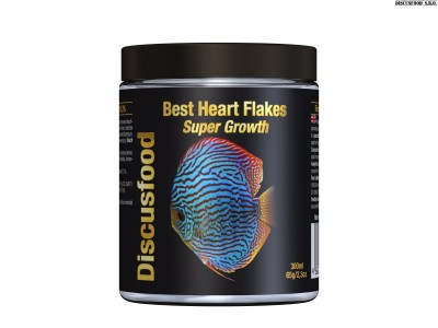 Best Heart Flakes Super Growth 830 ml