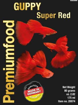 Guppy special super RED 80g 175ml